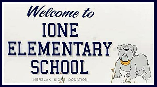Welcome to Ione Elementary